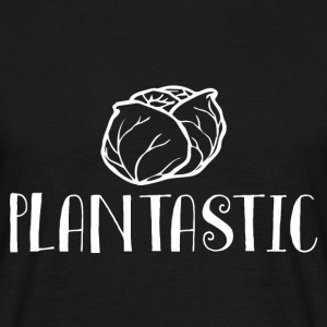 Veggie / Vegan: Plantastic - T-skjorte for menn