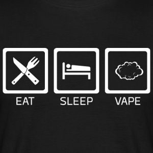 Eat Sleep Vape - Men's T-Shirt
