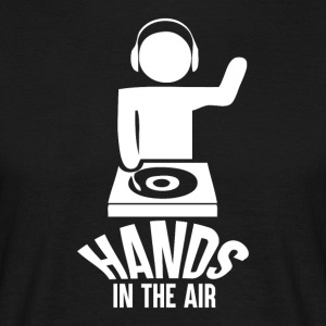Hands in the Air - Music Passion - Men's T-Shirt