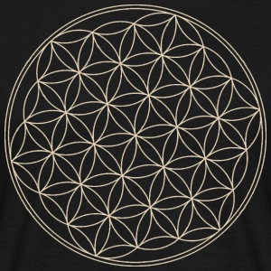 Lotus Mandala circle - Men's T-Shirt