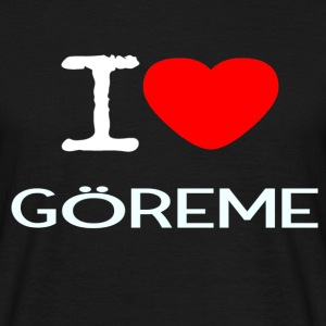 I LOVE Göreme - T-skjorte for menn