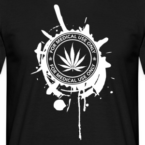 GANJA MEDICAL - T-shirt herr