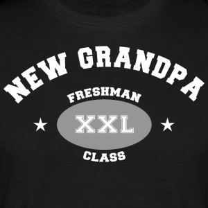 New Grandpa Personalize with Date or Name - Men's T-Shirt