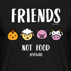 Friends Not Food #VEGAN - Männer T-Shirt
