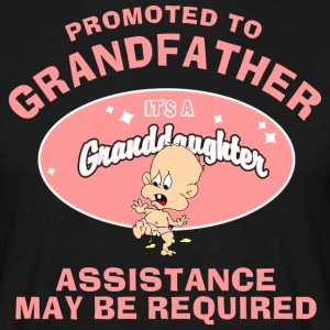 Promoted To Grandfather Granddaughter - Men's T-Shirt