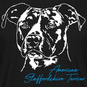 AMERICAN STAFFORDSHIRE TERRIER - Men's T-Shirt