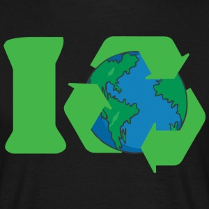 Earth Day I Recycle - Men's T-Shirt