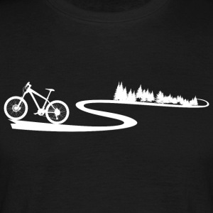 Mountainbike Trail - T-shirt herr