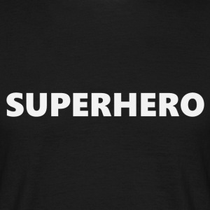 Super Hero V1bkEN - Männer T-Shirt