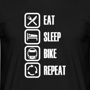 Motorcycle / Bike is the best! - Men's T-Shirt
