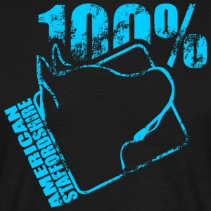 AMERICAN STAFFORDSHIRE 100 - Men's T-Shirt