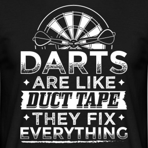DART DUCT TAPE FIX EVERYTHING - Men's T-Shirt