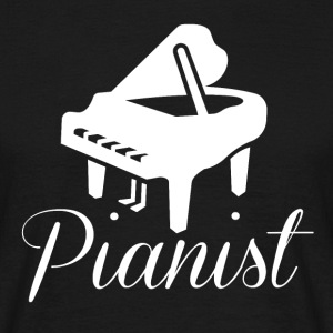 Pianist T-Shirt - Men's T-Shirt