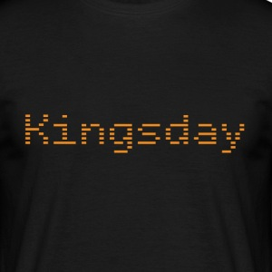 Kingsday - Mannen T-shirt