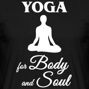 Yoga for Body and Soul - Men's T-Shirt