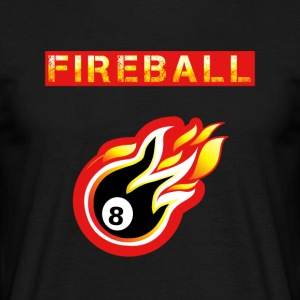 Fireball - T-skjorte for menn