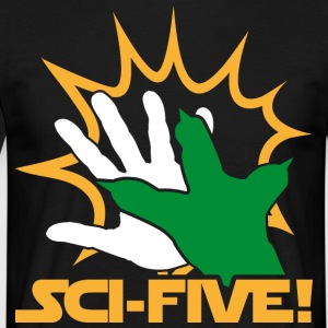 Sci Five - Y (hell) - Männer T-Shirt