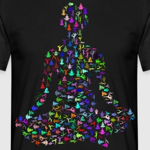 YOGA POSITIVE LIFE COLLECTION - Men's T-Shirt