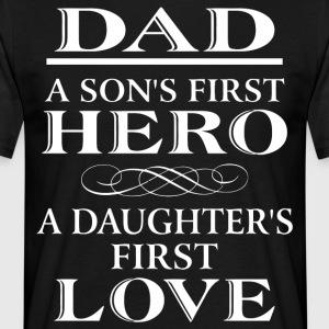 Perfect gift for dad shirt - Men's T-Shirt