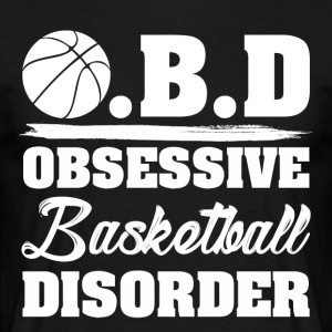 OBD obsessive lidelse basketball - T-skjorte for menn