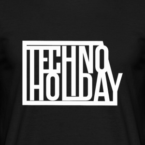 Techno Holiday - T-shirt Homme