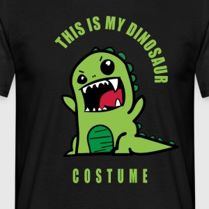 dinosaure dino costume carnaval carnaval fun humo - T-shirt Homme