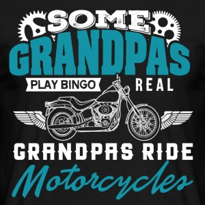 Grandpa motorcycle - Men's T-Shirt