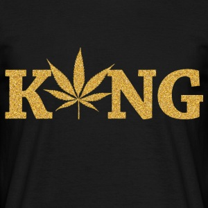marijuana King - Men's T-Shirt