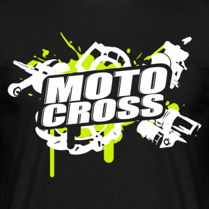 Motocross Supermoto Enduro Vol.I g/w - Männer T-Shirt