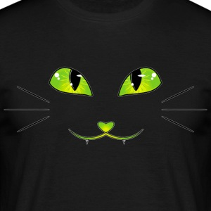cat eyes - Men's T-Shirt