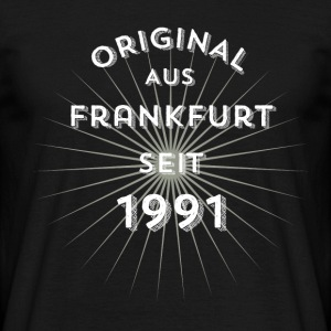 Original from Frankfurt since 1991 - Men's T-Shirt