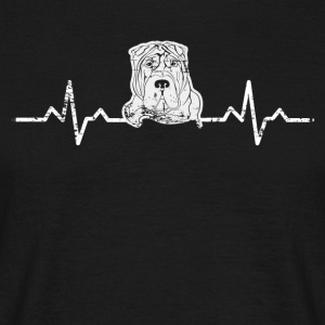 A heart for Stafford terrier - Men's T-Shirt