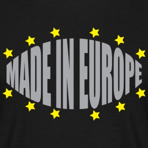 Made in Europe - Maglietta da uomo