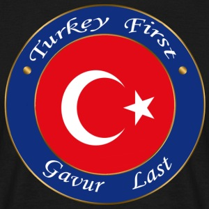 Turkey FIRST - Men's T-Shirt