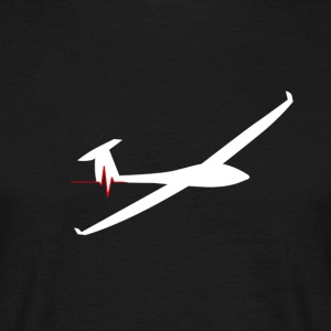 heartbeat glider - Men's T-Shirt