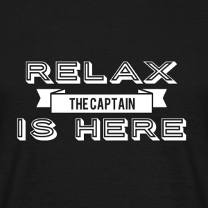 Relax capitaine design - T-shirt Homme