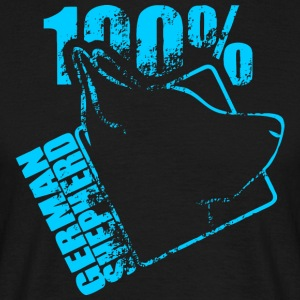 GERMAN SHEPHERD 100 - Männer T-Shirt