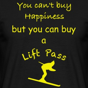 Ski Pass Yellow - Men's T-Shirt