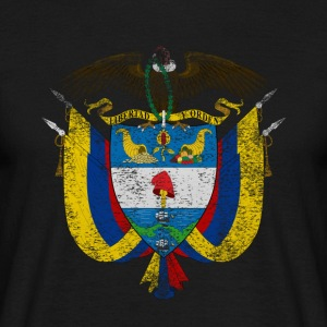 Colombia Coat of Arms Colombia Symbol - Men's T-Shirt
