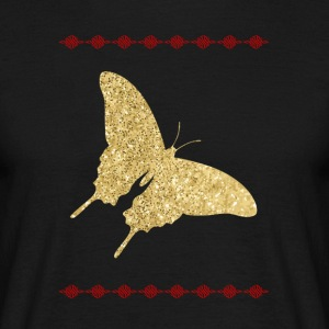 Golden Butterfly shirt - Herre-T-shirt