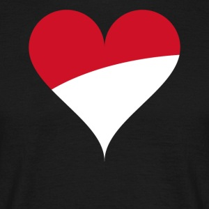 heart poland - Men's T-Shirt