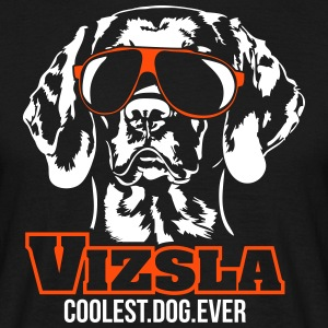 VIZSLA coolest dog - Men's T-Shirt