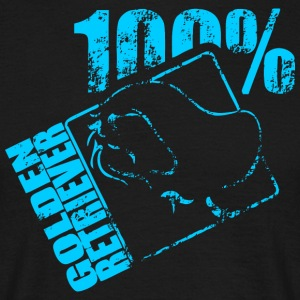 GOLDEN RETRIEVER 100 - Männer T-Shirt