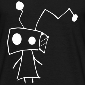 Minni robot Boxkopf - Men's T-Shirt