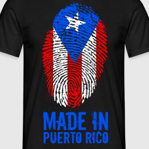 Made In Puerto Rico - Mannen T-shirt