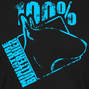 MINIATURE BULL 100 - Men's T-Shirt