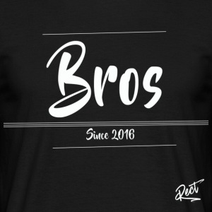 (MEN)BROS ,SINCE 2016 - T-shirt herr