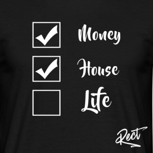 (BUT) MONEY HOUSE AND LIFE - Men's T-Shirt
