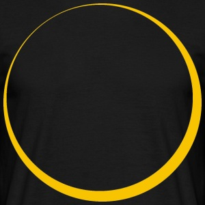 ECLIPSE - Yellow Sun - T-shirt Homme