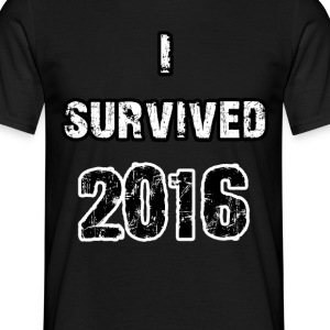 Survived 2016 - Men's T-Shirt